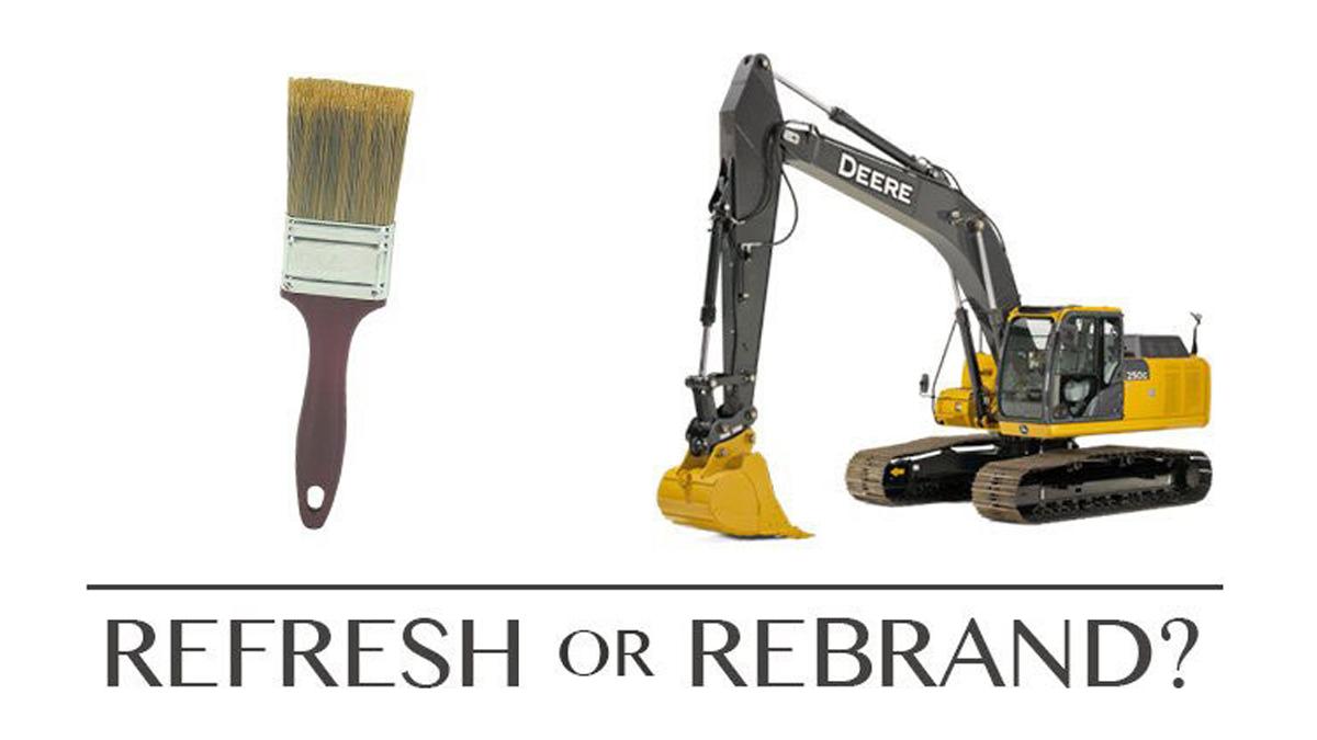 Brand Refresh versus Rebrand?
