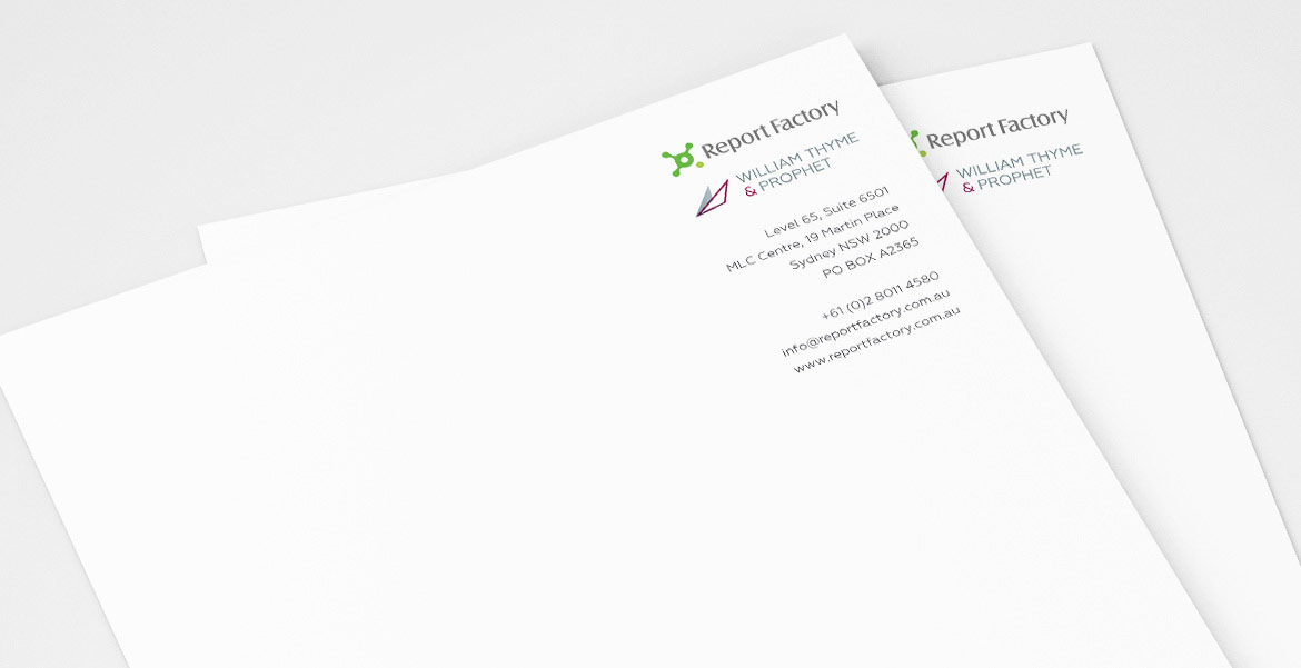 WTP Brand Strategy Brand Strategy Execution stationery 2
