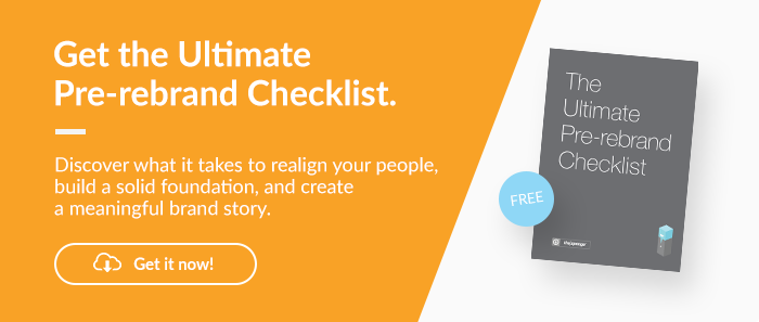 Ultimate Pre Rebrand Checklist Download