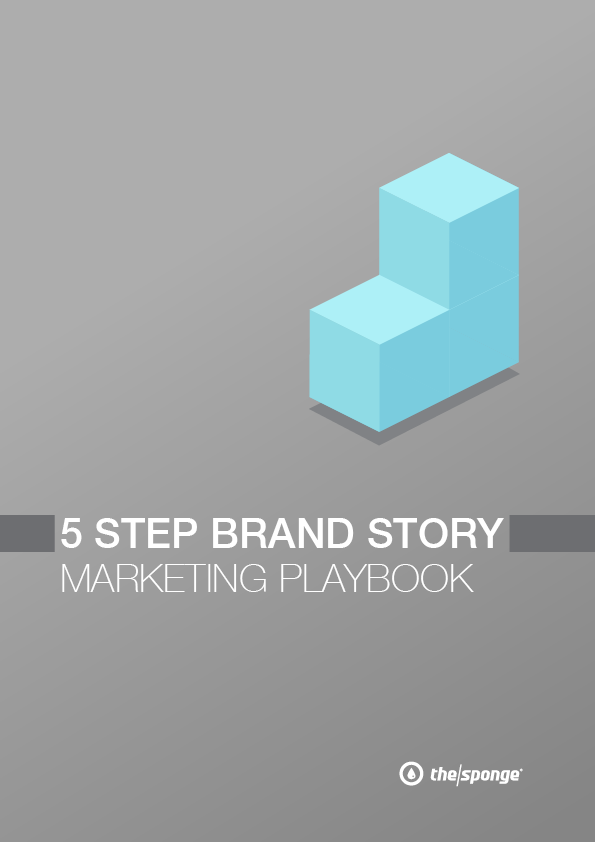 5 Step Brand Story Marketing Playbook Cover