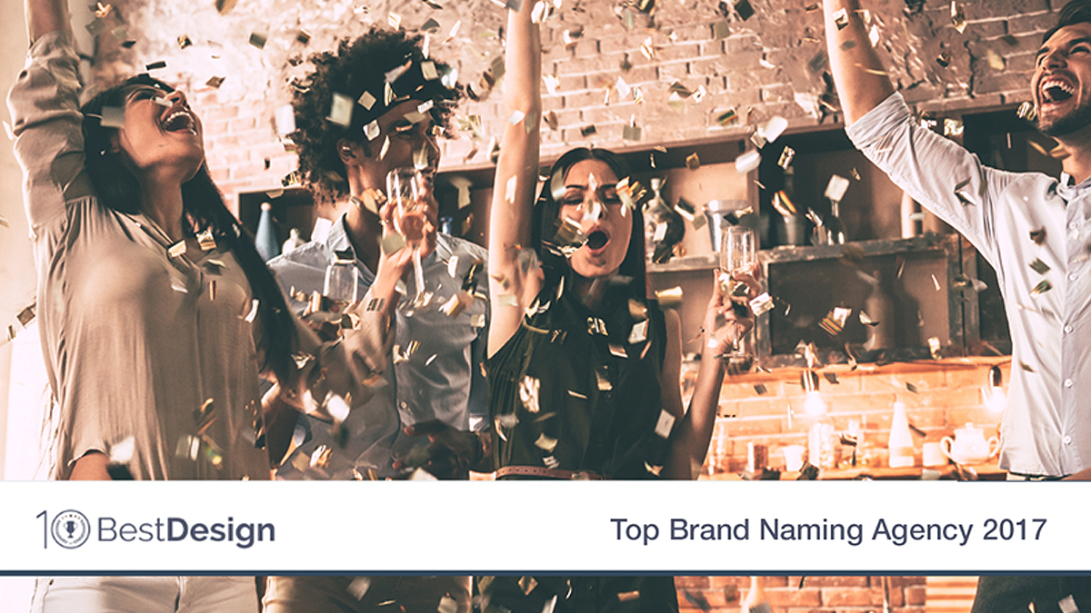 The Sponge Selected As A Top 10 Brand Naming Agency