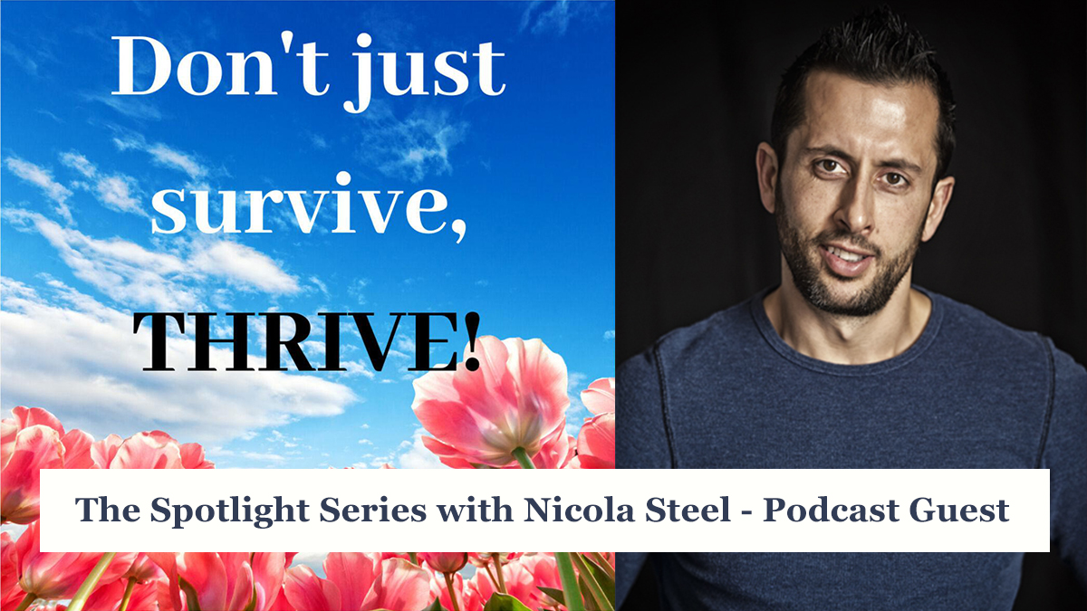 Don't just survive, thrive podcast.