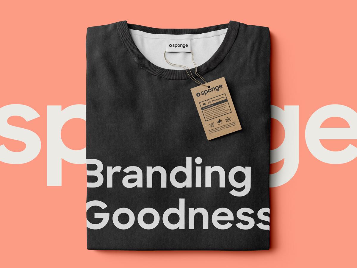 Sponge Branding Goodness Folded Tee